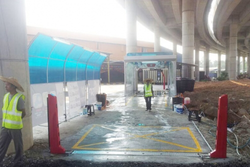 Touchless Car Wash Machine SHUIFU-M7 In Malaysia