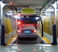 Automatic car wash machine M9 touchless carwash equipment installed in China